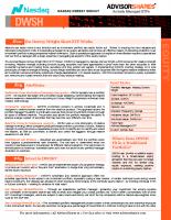 DWSH Investment Case