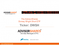 DWSH Investor Presentation