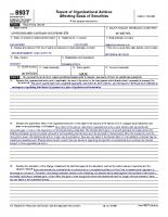 AdvisorShares Gartman Gold/EURO ETF — Form 8937