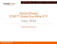 VEGA Investor Presentation Deck