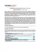 CWS Summary Prospectus