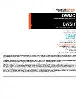 DWMC Prospectus