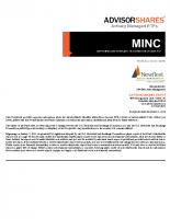 MINC Prospectus