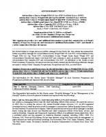 Statement of Additional Information (SAI)